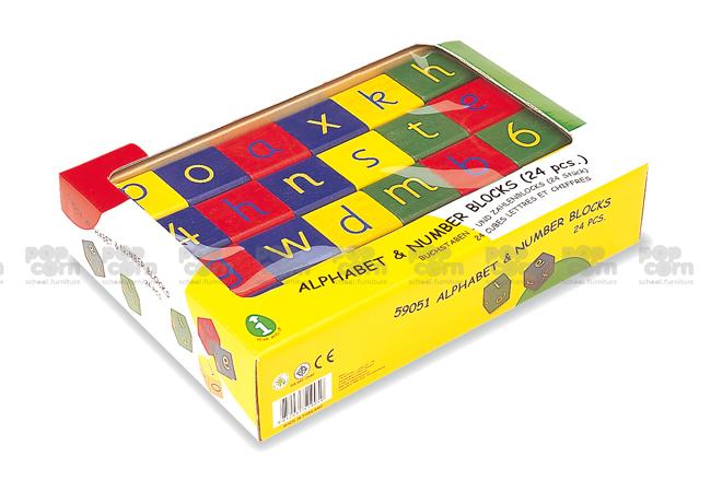 Alphabet and Number Block