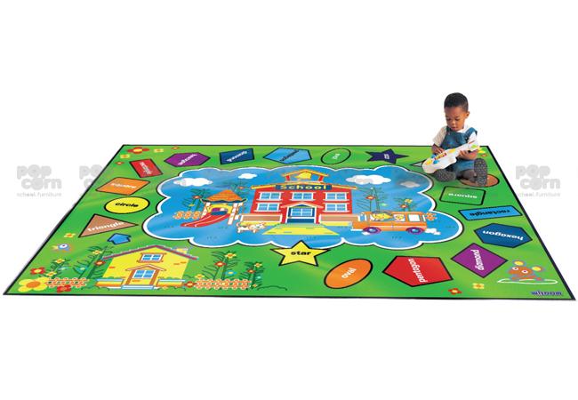 Colour and Shape Carpet