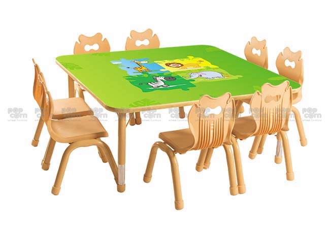 Jungle Series Square Table