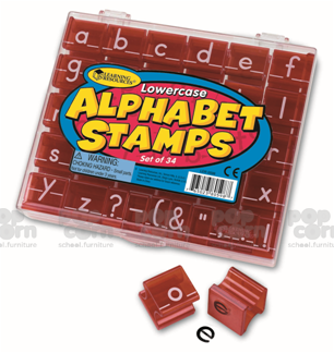 Lower Case Alphabet Stamps