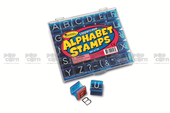 Upper Case Alphabet Stamps