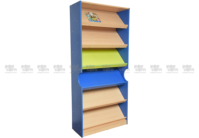 Slanted-Library-Shelf