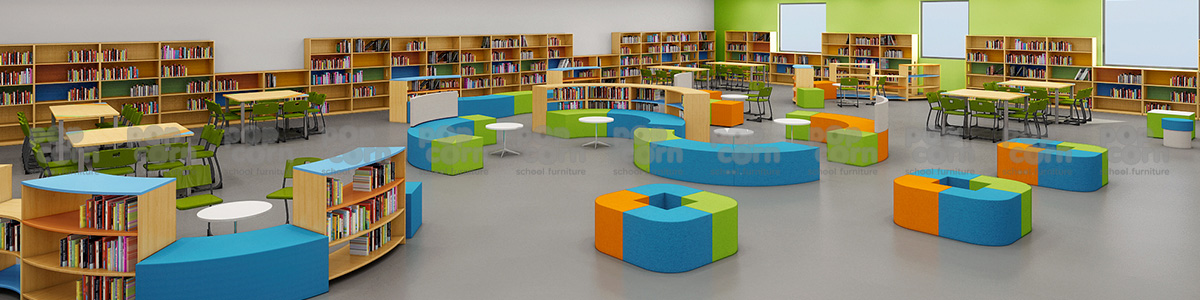 complete school library