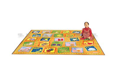 alphabet activity carpet