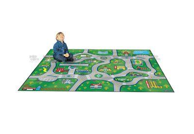 city map carpet
