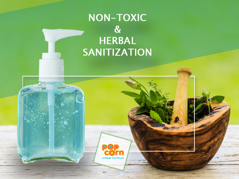 Non-toxic and herbal sanitization