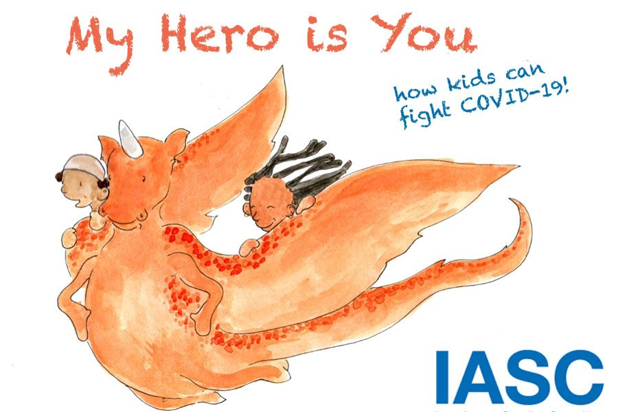 My Hero is You, Storybook for Children on COVID-19-1