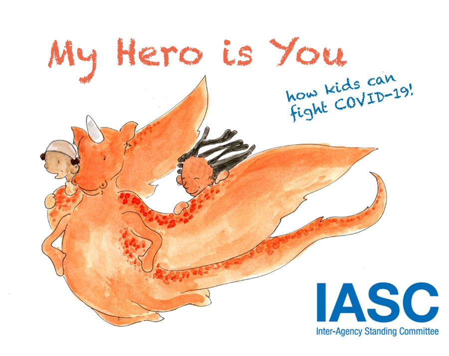 My Hero is You- How Kids Can Fight COVID-19!