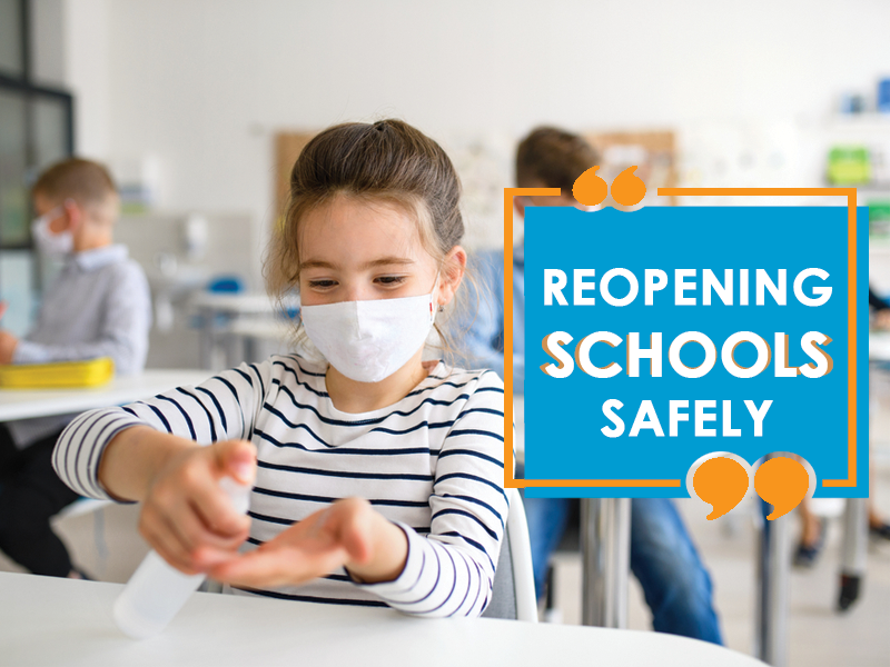Reopening schools safely