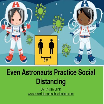 Even Astronauts Practice Social Distancing
