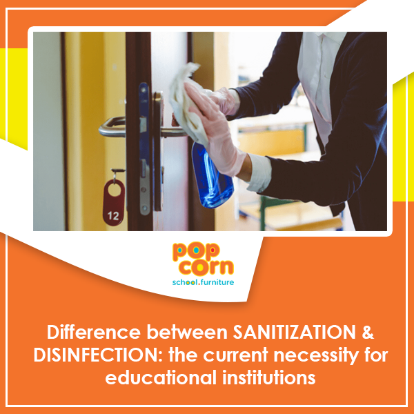 Difference between Sanitization and Disinfection