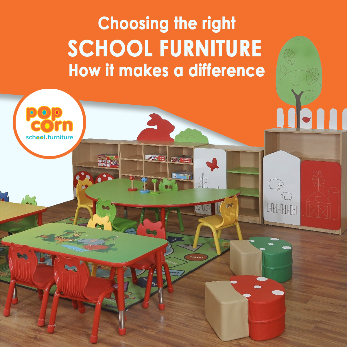 choosing the right school furniture