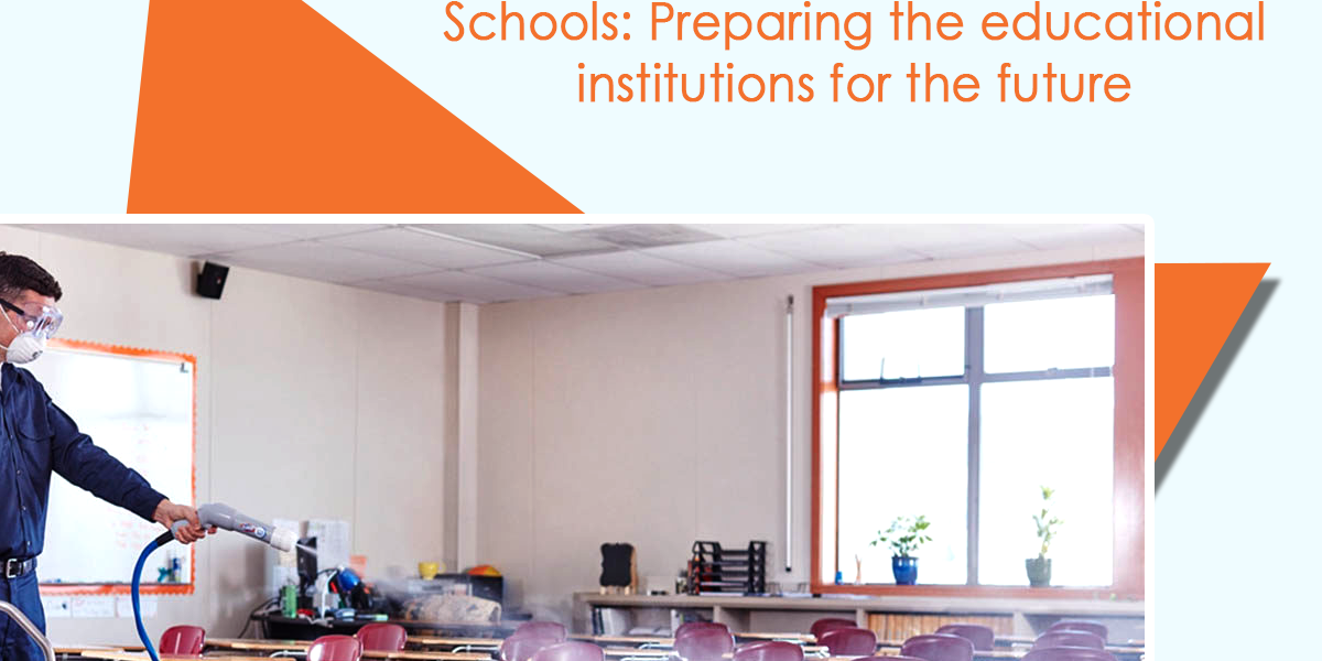 cleaning, sanitizing and disinfecting schools