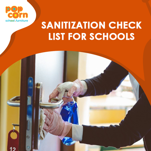sanitization checklist for schools