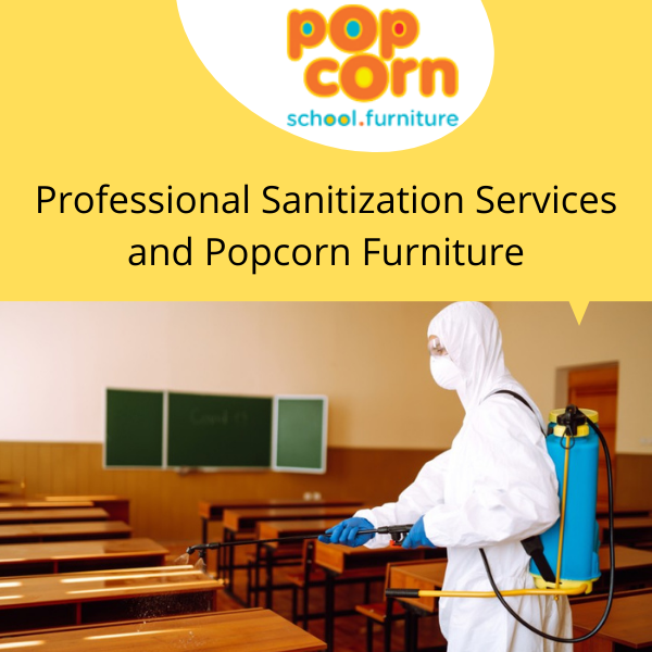 Professional Sanitization Services and Popcorn Furniture