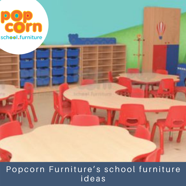 Popcorn Furniture's school furniture ideas